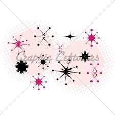 Starburst Design Clip Art Atomic Pattern Inspired By Franciscan Pottery Starburst Patter