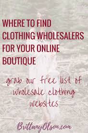 what youve always wanted to know about fashion find wholesale clothing for your online boutique with our fashion