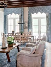 dining room enchanting blue pelmets for hall design with candle