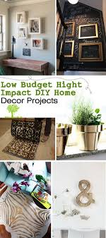 diy home decor projects on a budget low budget diy home decor projects jpg