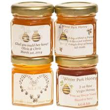 honey favors personalized honey favors of 24 local bee honey winter