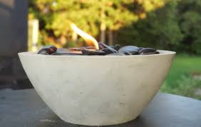 How To Make A Table Fire Pit - diy tabletop fire bowls the garden glove