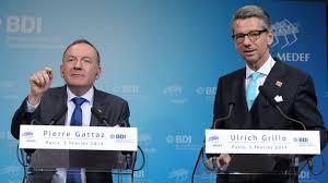 siege du medef les patronats français et allemand appellent à mieux contrôler l
