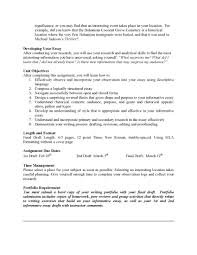 cover letter example of a informative essay example of informative