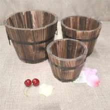 popular barrel planter buy cheap barrel planter lots from china