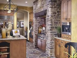 Rustic Kitchens Designs Create A Rustic Kitchen Design With The Help Of Stone Veneers