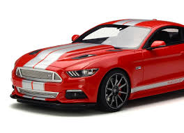 frozen mustang ford mustang by bojix design in 1 18 scale by gt spirit resin