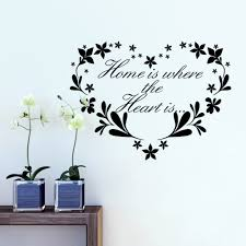 aliexpress com buy home is where heart is home decor creative