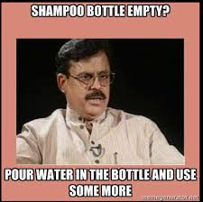 Indian Memes - shoo bottle empty indian memes