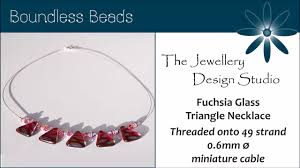 a beginner u0027s guide to czech glass bead necklace making youtube
