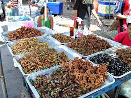 insectes dans la cuisine dégustation d insectes au cambodge guide voyage cambodge