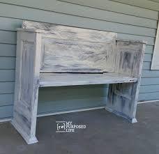How To Make A Small Bench The 25 Best Old Door Bench Ideas On Pinterest Door Bench Door