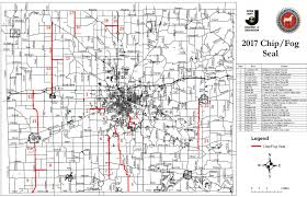 Jackson Michigan Map by Chip Seal Program 2017 Jackson County Mi