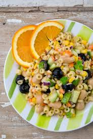 rich and juicy pasta salad with veggies vegansandra tasty