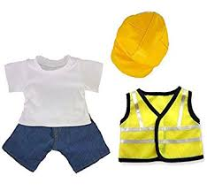 clothes for build a builder construction teddy clothes fit build