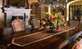 classic christmas decorations decorating dining room table rustic