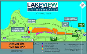 Boston Parking Map by Traffic Parking Tips For Lakeview Amphitheater Concerts