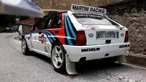 martini racing lancia delta martini racing 5 7 2015 youtube