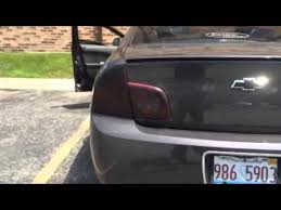 2009 silverado tail lights 2012 chevy malibu sequential tail lights youtube