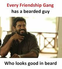 Meme Beard Guy - dopl3r com memes every friendship gang has a bearded guy who