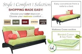 Futon Bed With Mattress Queen Size Futon Sets Frame And Mattress Set Fdyoco With 15 Deco