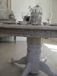 Valmont Dining Table Rustic Dining Table Distressed Dining - Distressed kitchen tables