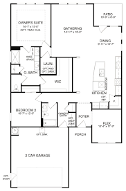 Charleston Floor Plan by 4058 Castle Rock Plan