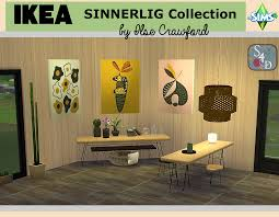 Sims 4 Furniture Sets Ikea Sinnerlig Collection Updated Sims 4 Designs
