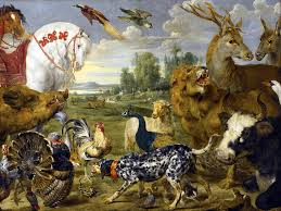 Kitchen Tile Murals Tile Art Backsplashes Garden Of Eden Animals P De Vos Tile Mural Wall Backsplash Art