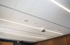 Office Lighting Fixtures For Ceiling Ge Lighting And Usg Install An Integrated Ceiling And Led Lighting