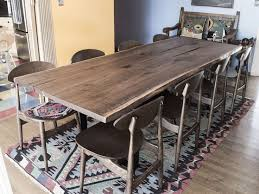 Custom Made Dining Room Furniture 39 Best Custom Slab Dining Tables Images On Pinterest Dining