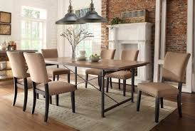 The Brick Dining Room Furniture Interior Excellent Picture Of Dining Room Decoration Using Beige