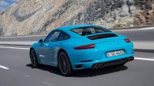 porsche blue 2017 porsche 911 carrera review with price horsepower and photo