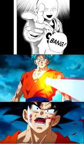 Goku Memes - saitama vs goku goku vs laser know your meme
