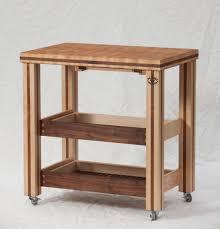 butcher block rolling table patriot woodcraft