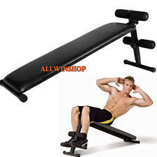Bench Abs Workout Sit Up Bench Ebay