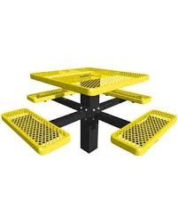 leisure craft picnic tables savings on leisure craft picnic table sq46p finish black