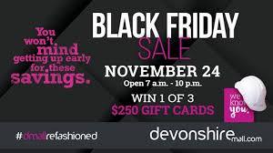 friday devonshire mall 24 november