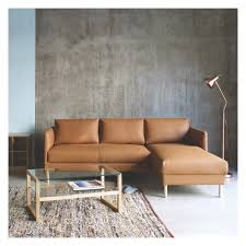 cream leather and wood sofa herrmann solid oak and glass coffee table buy now at habitat uk