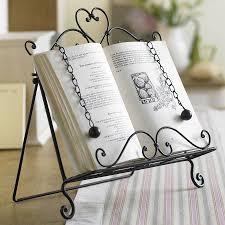 cook book rack home design ideas