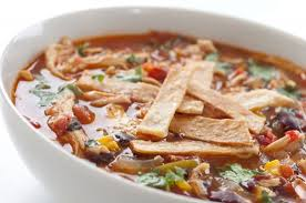 spicy chicken tortilla soup recipe sparkrecipes