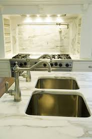 Sink In Kitchen Island They Do Exist One Island Two Sinks And Two Faucets Bakes And