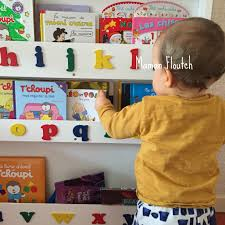 Alphabet Bookcase Tidy Books Us U0026dash Putting Books At The Heart Of Your Child U0027s Worl