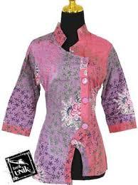 gambar model baju batik modern 52 contoh model baju batik wanita terbaru 2018 model baju muslim