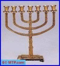 knesset menorah traditional seven branch knesset menorah large size