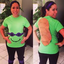 Halloween Costumes Ninja Turtles Ninja Turtle Pregnancy Costume Easy Diy Parties Crafts