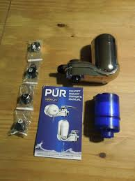 Faucet Mount Filter A Review Of The Pur Advanced Faucet Water Filter Meghan Riley