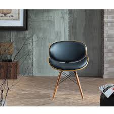 Midcentury Modern Armchair - amazon com corvus madonna walnut and black finished contemporary