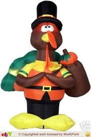 turkey inflatables image gemmy standing turkey with bag jpg gemmy wiki