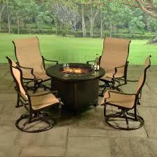 Bar Height Patio Set With Swivel Chairs Patio Ideas Darlee Nassau Swivel Rocker Patio Dining Chair